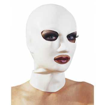 Latexová maská (bílá)