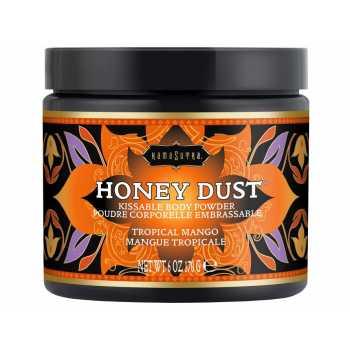 Slíbatelný tělový pudr Honey Dust Tropical Mango - 170 g