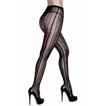 Vzorované punčochové kalhoty - Baci