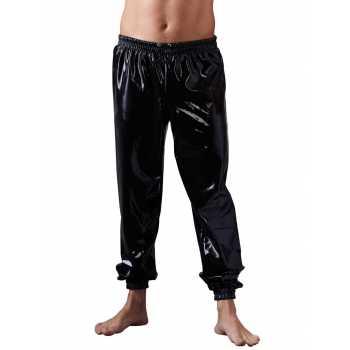 Volné latexové kalhoty - LateX