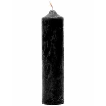 S/M černá parafínová svíčka - Rimba