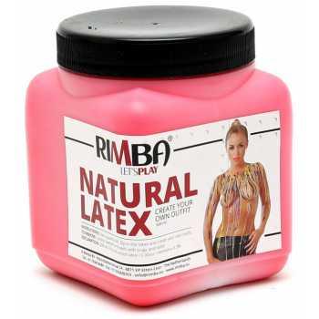 Tekutý latex v červené barvě Rimba - 500 ml
