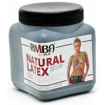 Tekutý latex v černé barvě Rimba - 500 ml