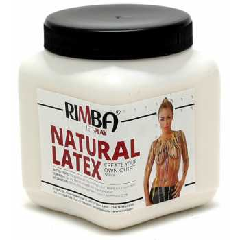 Tekutý latex Rimba - transparentní, 500 ml