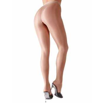 Tělové punčochové kalhoty s otevřeným rozkrokem - Cottelli Collection