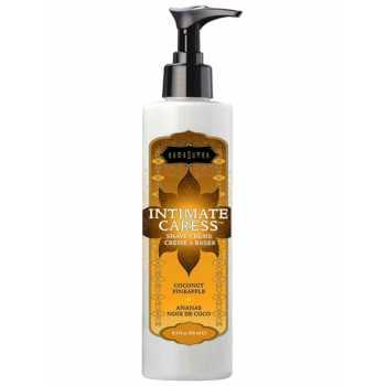 Krém na holení Intimate Caress Coconut Pineapple, 250 ml - KamaSutra