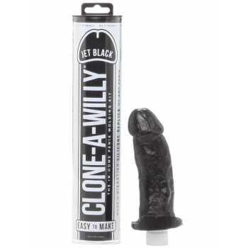Clone-A-Willy Jet Black (vibrátor) - sada pro odlitek penisu