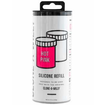 Náhradní silikon pro Clone-A-Willy - jasně růžový