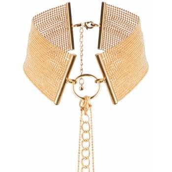 Náhrdelník - obojek Magnifique Gold, zlatý
