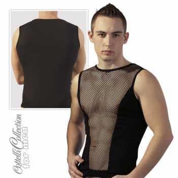 Pánské síťované tričko bez rukávů