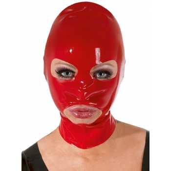 Latexová maska (červená)