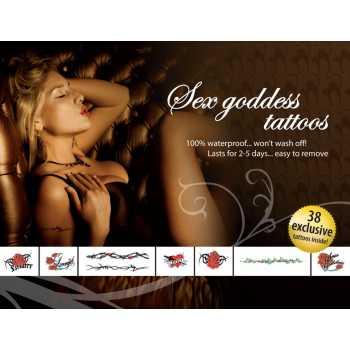Erotické tetování - Sex Goddes
