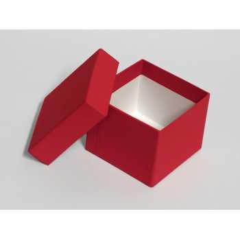 Dárková krabice mini (8,5 x 8,5 x 7 cm) + stuha