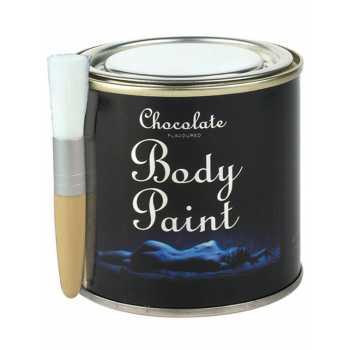 Bodypainting v plechovce (čokoláda)