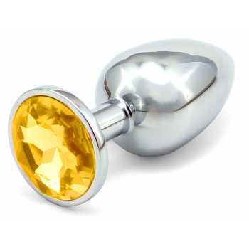 Anální kovový kolík - zlatý