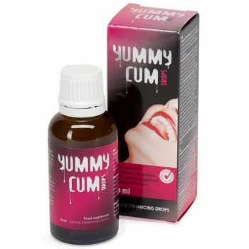 Kapky pro lepší chuť spermatu
