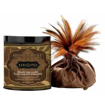 Tělový pudr Honey Dust Chocolate Caress - slíbatelný