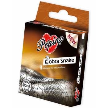 Kondomy Pepino Cobra Snake