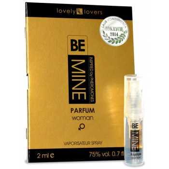 Parfém s feromony pro ženy BeMINE (VZOREK)