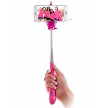Selfie tyč Dicky s rukojetí ve tvaru penisu
