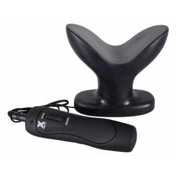 Roztahovací anální vibrační kolík Dark Lotus