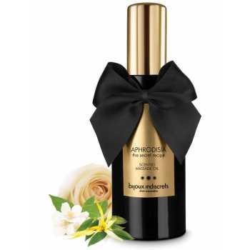 Masážní olej Aphrodisia - s tóny ylang-ylang, růže a jasmínu
