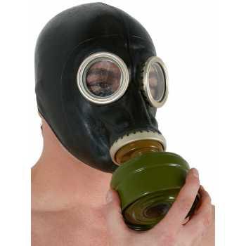Plynová maska z latexu