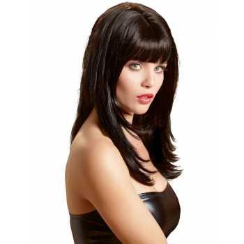Dlouhá černá paruka Carmen - Wigged Love