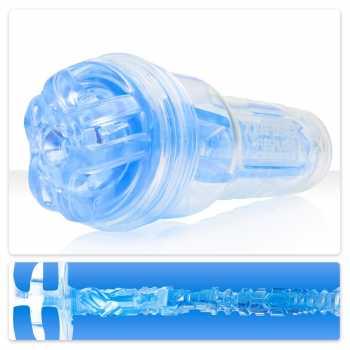 Simulátor orálního sexu TurboTrust Ignition Blue Ice - Fleshlight