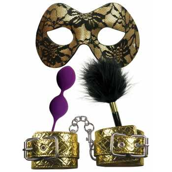 Sada erotických pomůcek Masquerade Party pro bondage