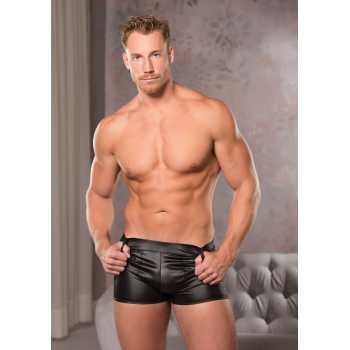 Lesklé boxerky - černé