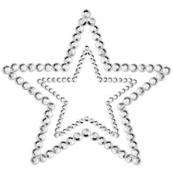 Samolepicí ozdoby na prsa MIMI Star - Bijoux Indiscrets