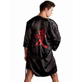 Luxusní pánské saténové kimono