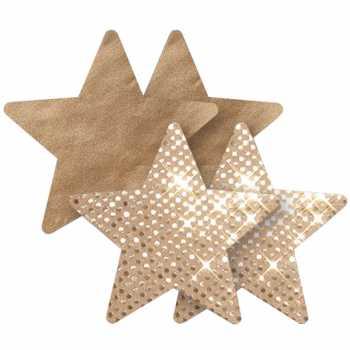 Samolepicí ozdoby na bradavky Superstar Star - Nippies
