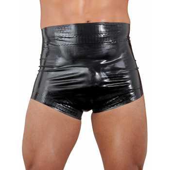 Latexové plenkové kalhotky v černé barvě, unisex