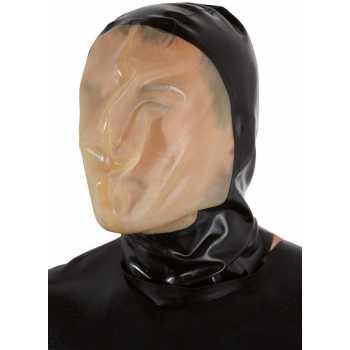 Latexová vakuová maska s malým dýchacím otvorem