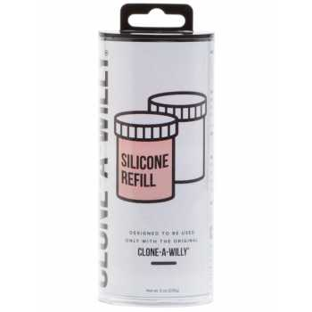 Náhradní silikon pro Clone-A-Willy - tělový (růžový)