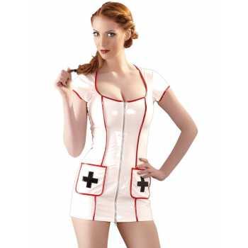 Lakovaný kostým Zdravotní sestra - Black Level