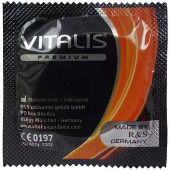 Kondom Vitalis Vanilla, vanilka (1 ks)
